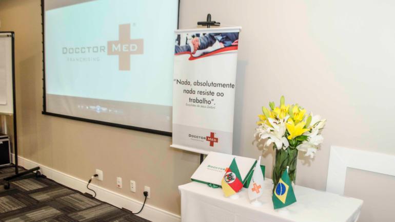 Docctor Med promove Treinamento para Novos Franqueados – Edição 2017