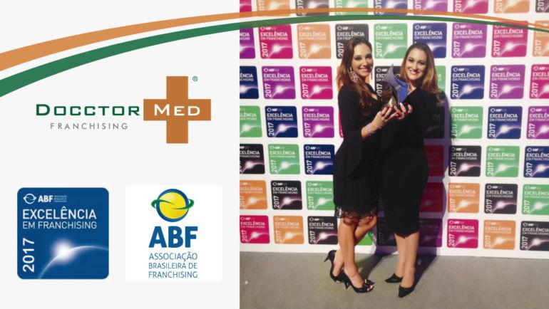 DOCCTOR MED conquista o Selo de Excelência em Franchising da ABF 2017