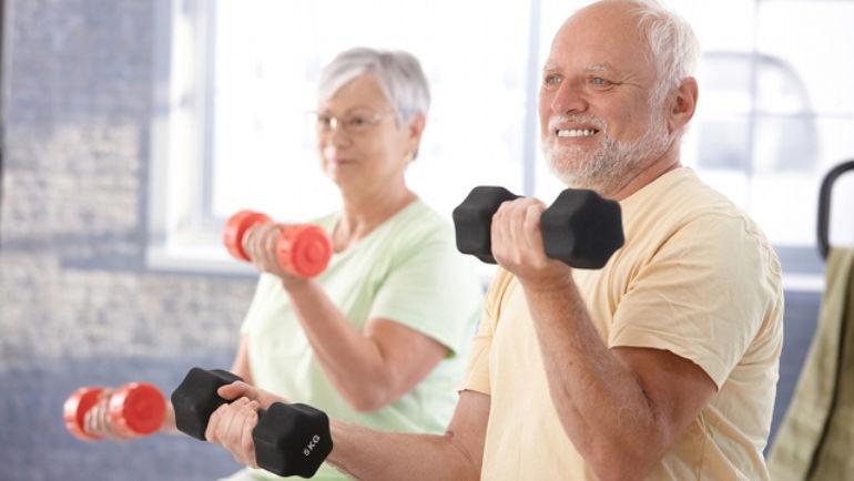 """""""Sarcopenia"""" a perda de massa muscular na terceira idade."""