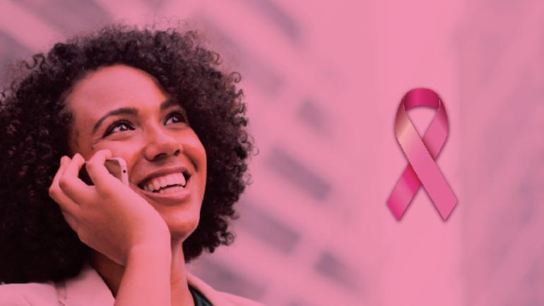 Outubro Rosa – mês da prevenção e combate ao câncer de mama