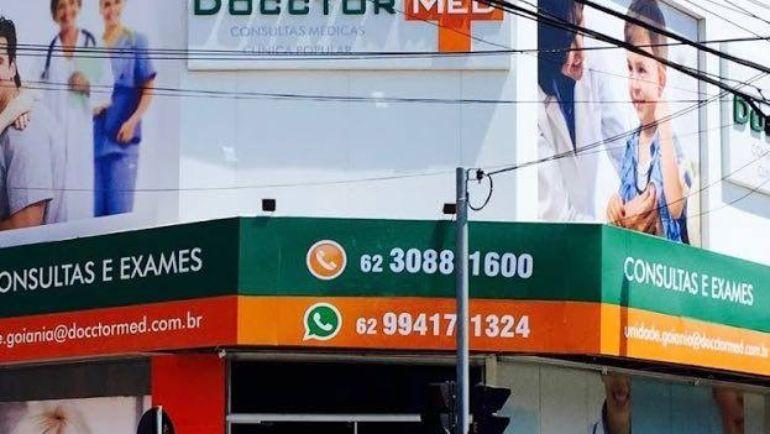 Docctor Med Goiânia Campinas oferece consultas e exames a preços acessíveis