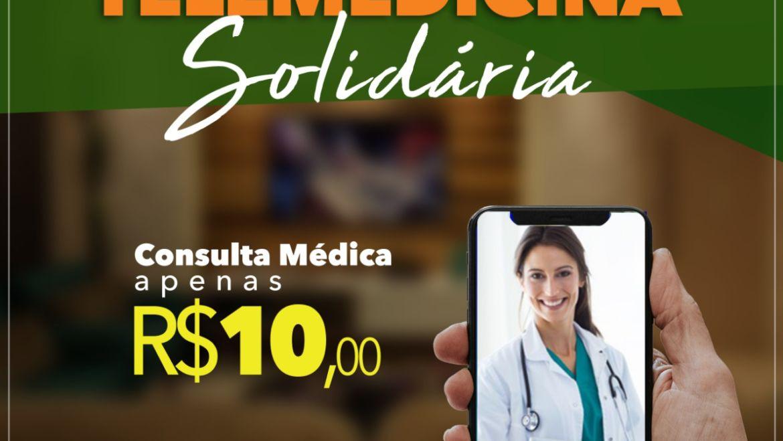 Consultas por telemedicina a R$ 10 na Docctor Med e renda revertida para a população